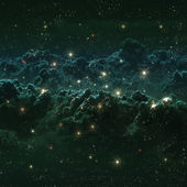 Star field in deep space many light years far from the Earth — Stock Photo