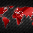 Cool map of the world — Stock Photo #21545959