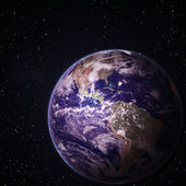 Earth. Elements of this image furnished by NASA — Stock Photo