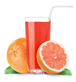 Grapefruit juice — Stock Photo