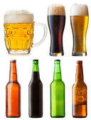 Bottles beer — Stock Photo