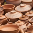 Earthen clay vases — Stock Photo