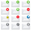 E-mail icons  — Stock Vector #29898275