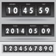Countdown timer — Stock Vector #30828281