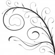 Decorative branch — Stock Vector