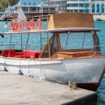 Small motor boat — Stock Photo