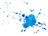 Watercolor blobs — Stock Photo