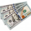 American one hundred dollars — Stock Photo #48828487