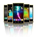Mobile phones. — Stock Photo