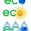 Stock Vector: Ecology icon.