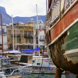 Harbour of kyrenia - Stock Photo