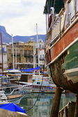 Harbour of kyrenia — Stock Photo