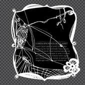 花边框架 — 图库矢量图片