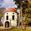 Old  tower of manor. Estonia. Sutlema — Stock Photo