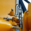 Stock Photo: Hydraulic pipes