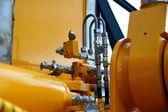 Hydraulic pipes — Stock Photo