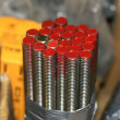 Threaded stud — Stock Photo