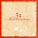 Merry Christmas lettering — Stock Vector #13913295
