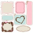 Blank cute frames for text — Stock vektor #19707225