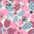 Funky floral pastel seamless pattern — Stock Vector #24684821