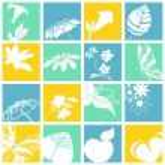 iconos de la naturaleza — Vector de stock  #6496599