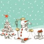 Christmas card — Stock Vector #6943890