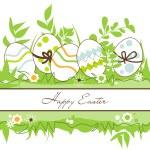 Vector Easter frame — Stock Vector #9743389