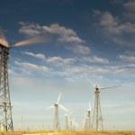 Éoliennes — Photo