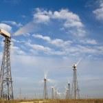 windturbines — Stockfoto