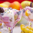 Stock Photo: Icecream sundae
