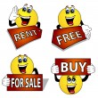 Emoticon signs — Stock Photo #17356115