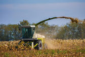 Combine harvester — Foto Stock