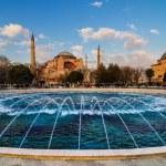 Hagia Sophia church Istanbul Turkey — Stock Photo #44155973