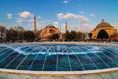 Hagia Sophia church Istanbul Turkey — Stock Photo