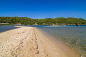 Greece lagoon beach — Stock Photo