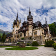 Pales castle in Sinaia — Stock Photo #49391193