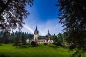 Pales castle in Sinaia Romania — Stock Photo