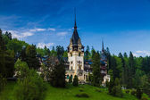 Pales castle in Sinaia — Stock Photo