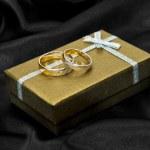 Wedding rings — Stock Photo #8416214