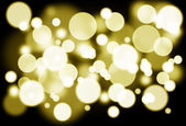 Golden lights — Stock Photo