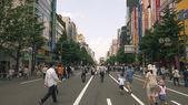 Pedestrian Akihabara, Tokyo — Stock Photo