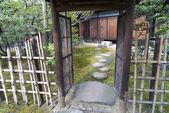 Zen bahçe giriş — Stok fotoğraf