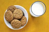 燕麦饼干 — 图库照片