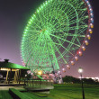 Night ferris wheel — Stock Photo