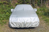 Car cover — Stock Photo