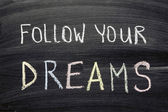 Follow your dreams — Stock Photo