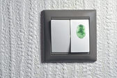 Green touch — Stock Photo