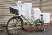 Street laundry — Stock Photo