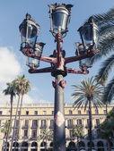 Placa Reial, Barcelona — Stock Photo