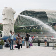 Merlion park - Stock Photo